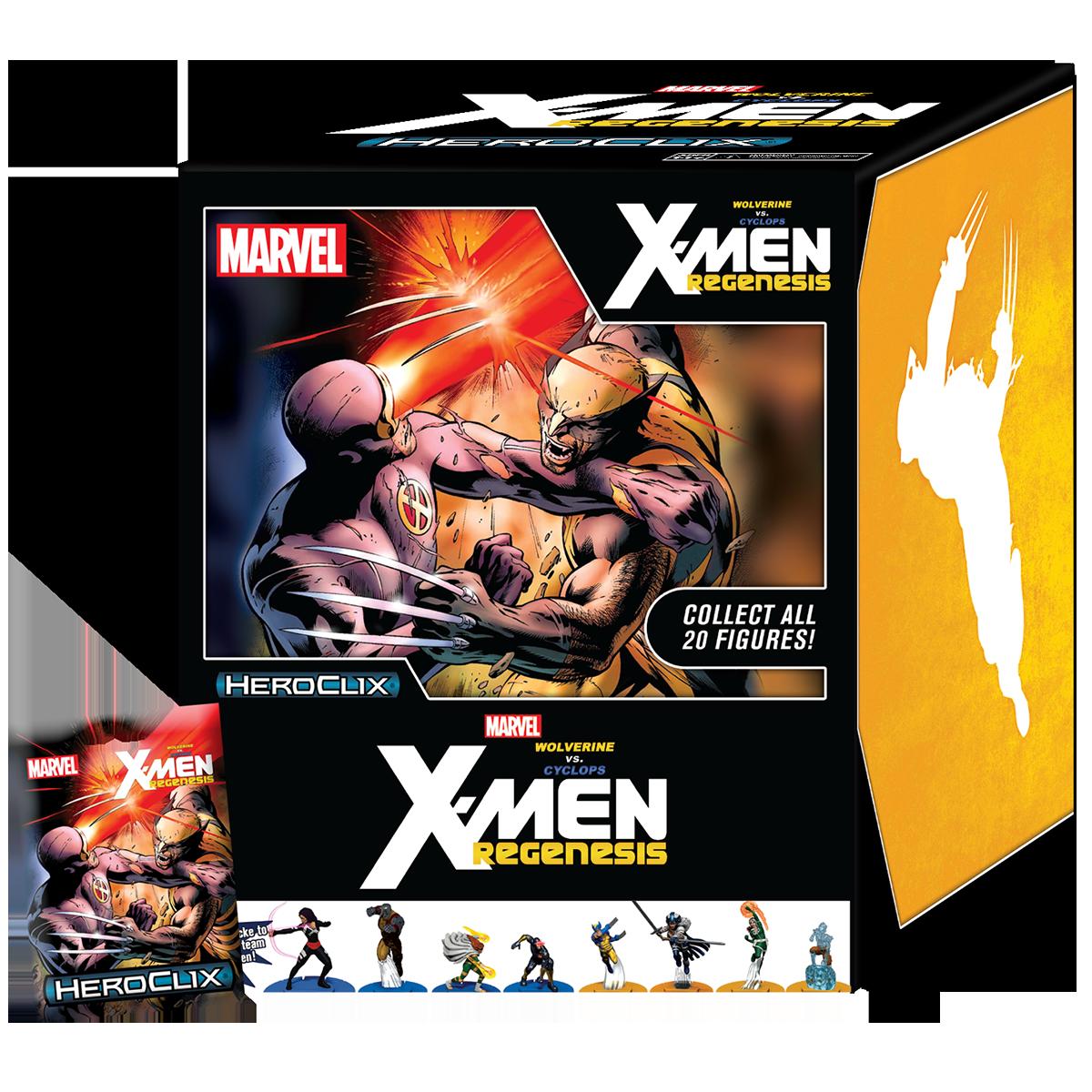 Marvel Heroclix Wolverine Vs Cyclops X Men Regenesis Storyline Op Heroclix
