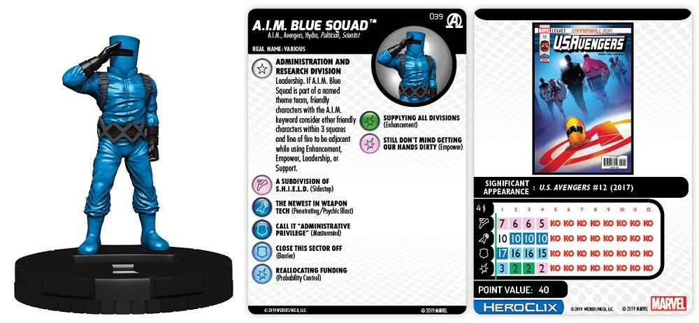 Black Panther /& Illuminati Everett K Heroclix Avengers Ross #027 Uncommon!
