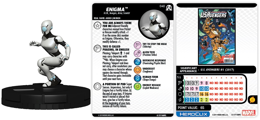 Marvel HeroClix: Avengers Black Panther and the Illuminati Previews
