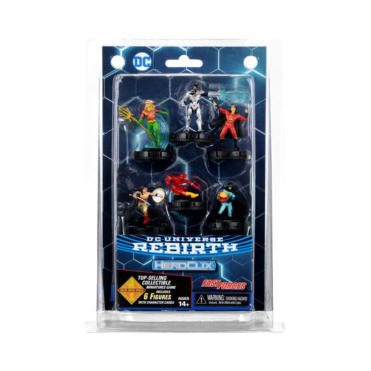 Figures up to 25/% OFF Heroclix DC REBIRTH Set SINGLES 4