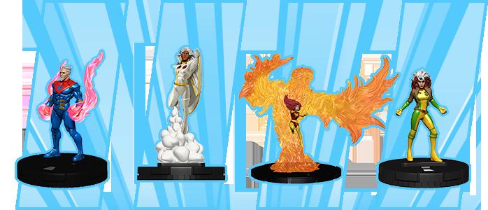X-Men Animated Dark Phoenix KRAKOA #G021 HeroClix colossal super rare figure