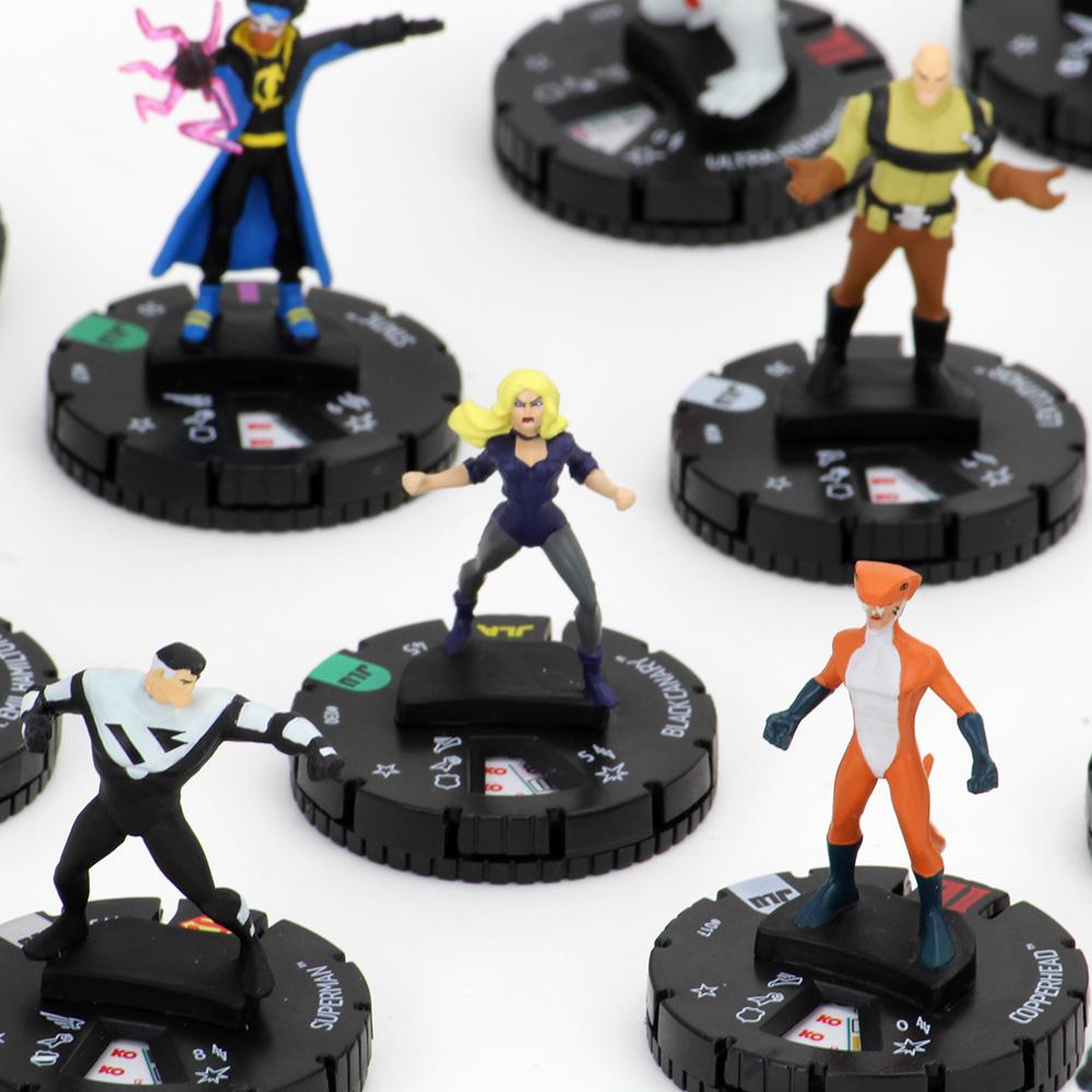 Heroclix Justice League Unlimited set The Joker #010 Common figure w//card!