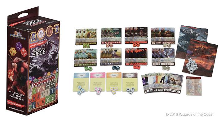 Dungeons & Dragons Dice Masters: Faerûn Under Siege Starter Set