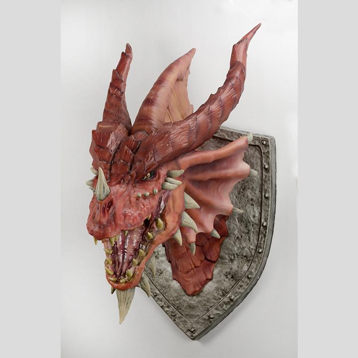 Dungeons Dragons Red Dragon Trophy Plaque Wizkids
