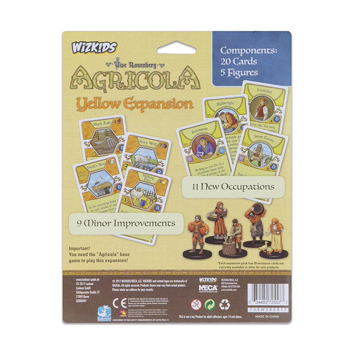 Yellow: Agricola Game Expansion -  WizKids