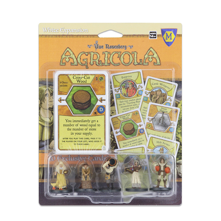 Natural White: Agricola Game Expansion -  WizKids
