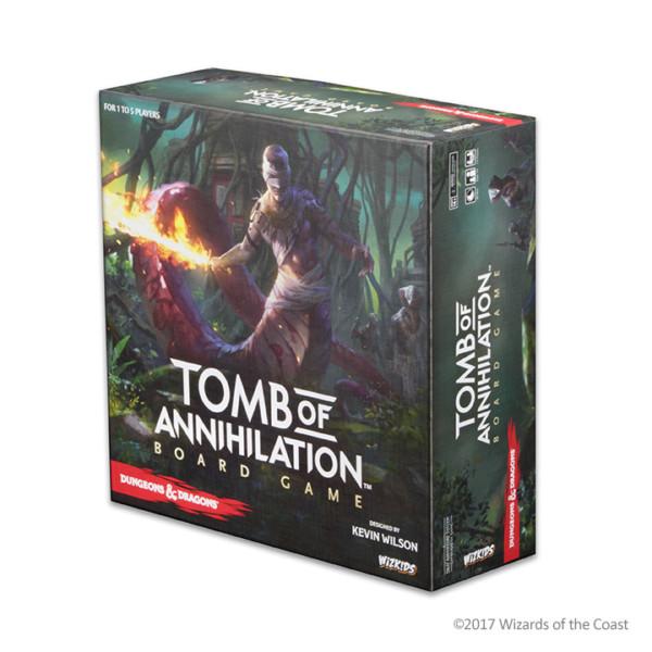 DnD Tomb of Annihilation Standard Edition Boardgame 2017 -  WizKids