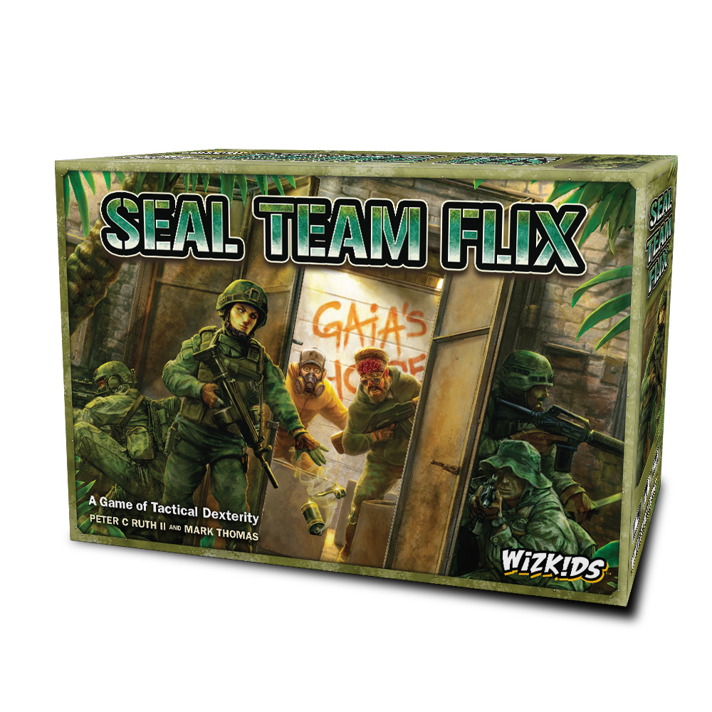 WizKids Unveils Upcoming Line of Board Games at GAMA Trade