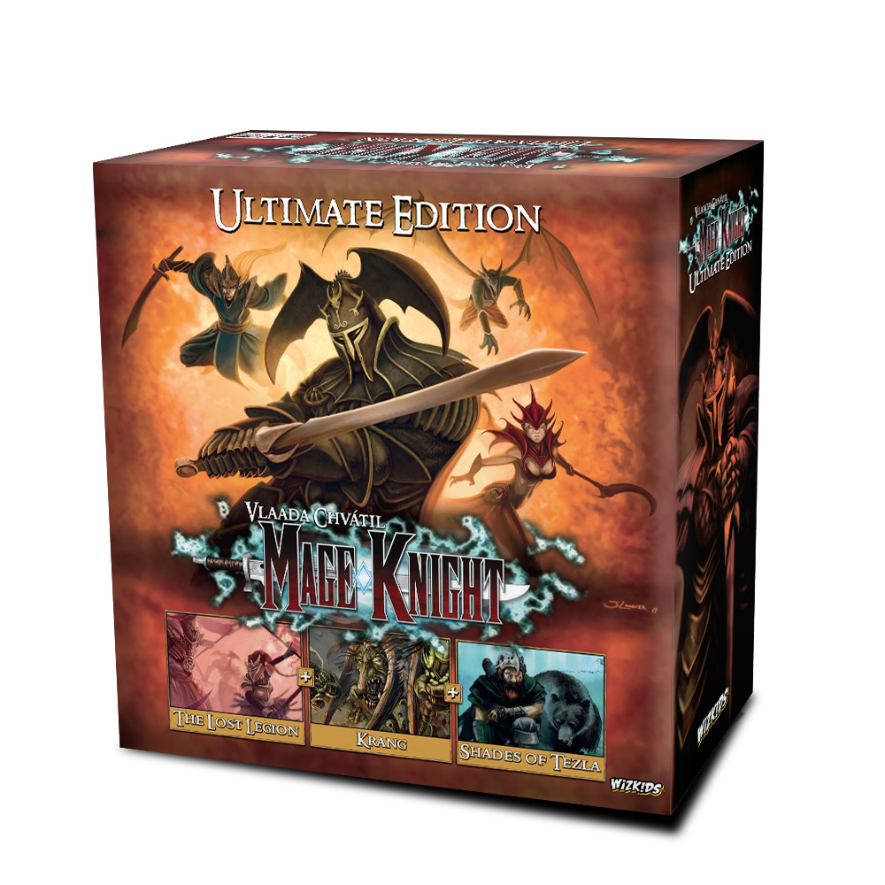 Wizkids Announces The Mage Knight Board Game Ultimate Edition Wizkids