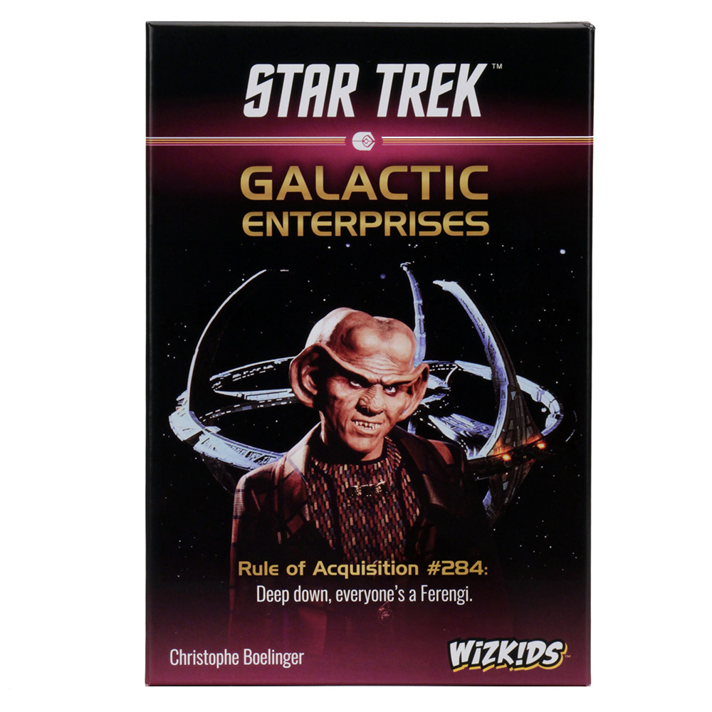 Star Trek: Galactic Enterprises -  WizKids