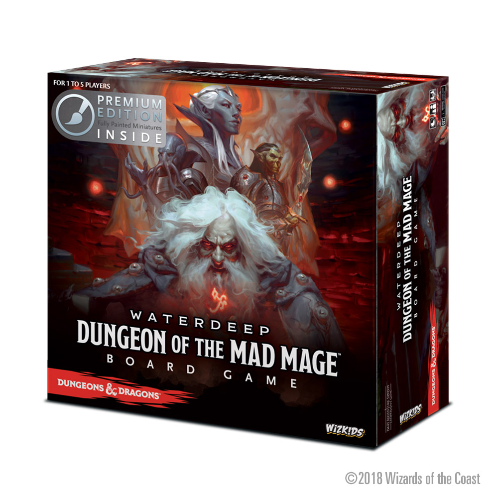 D&D Waterdeep Dungeon of the Mad Mage Premium Box