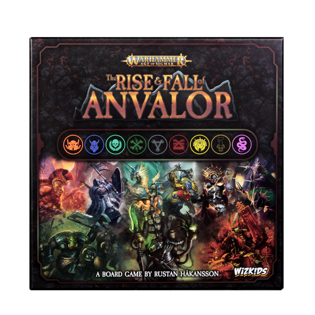 Warhammer: Age of Sigmar: Rise & Fall of Anvalor | WizKids