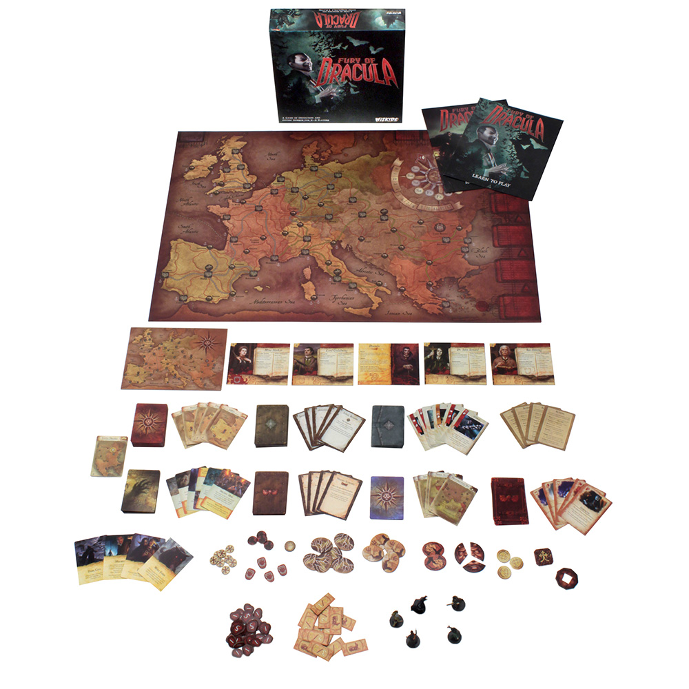Fury of Dracula | WizKids