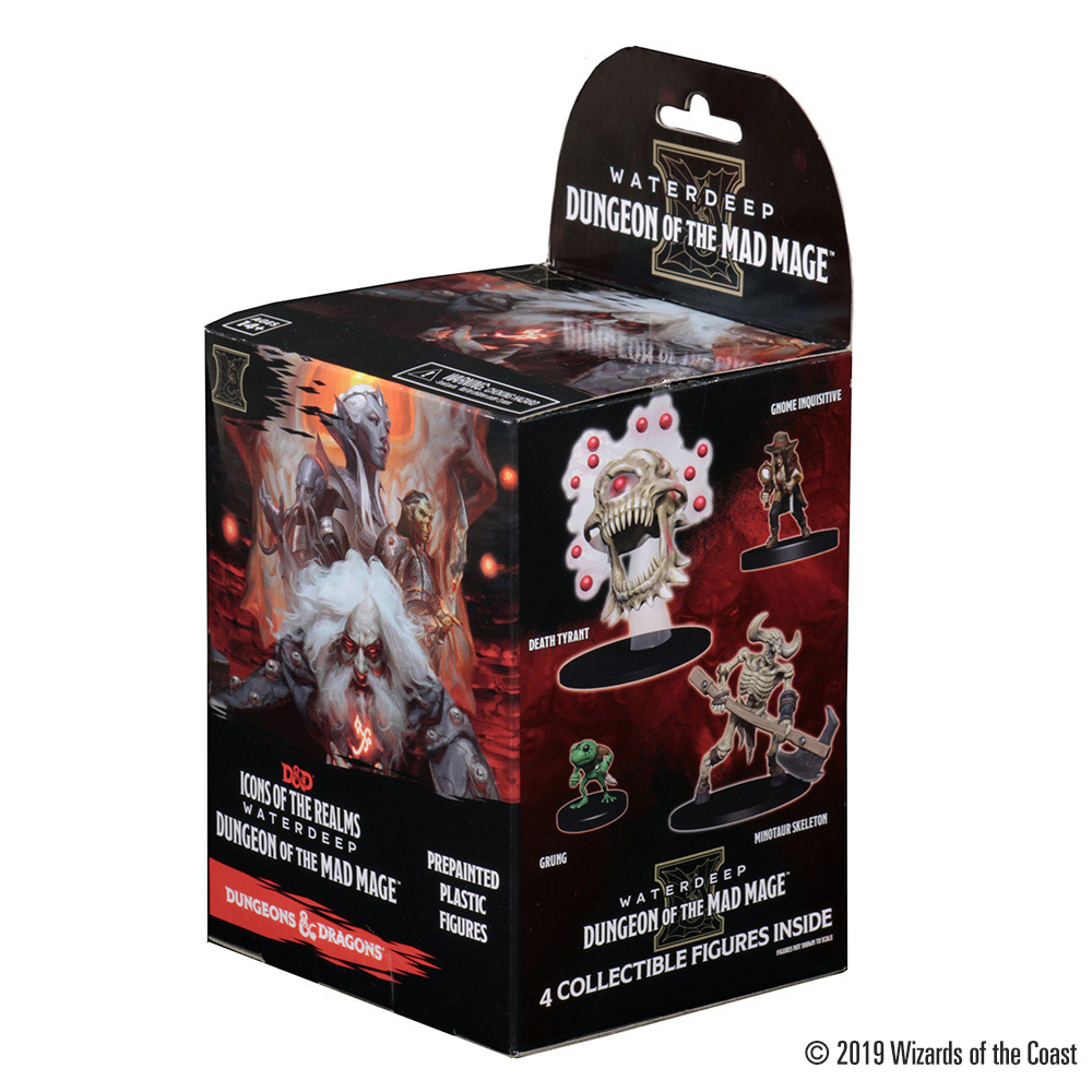 Dungeon Of The Mad Mage Booster Waterdeep 1x Wizkids D/&D Icons Of The Realms