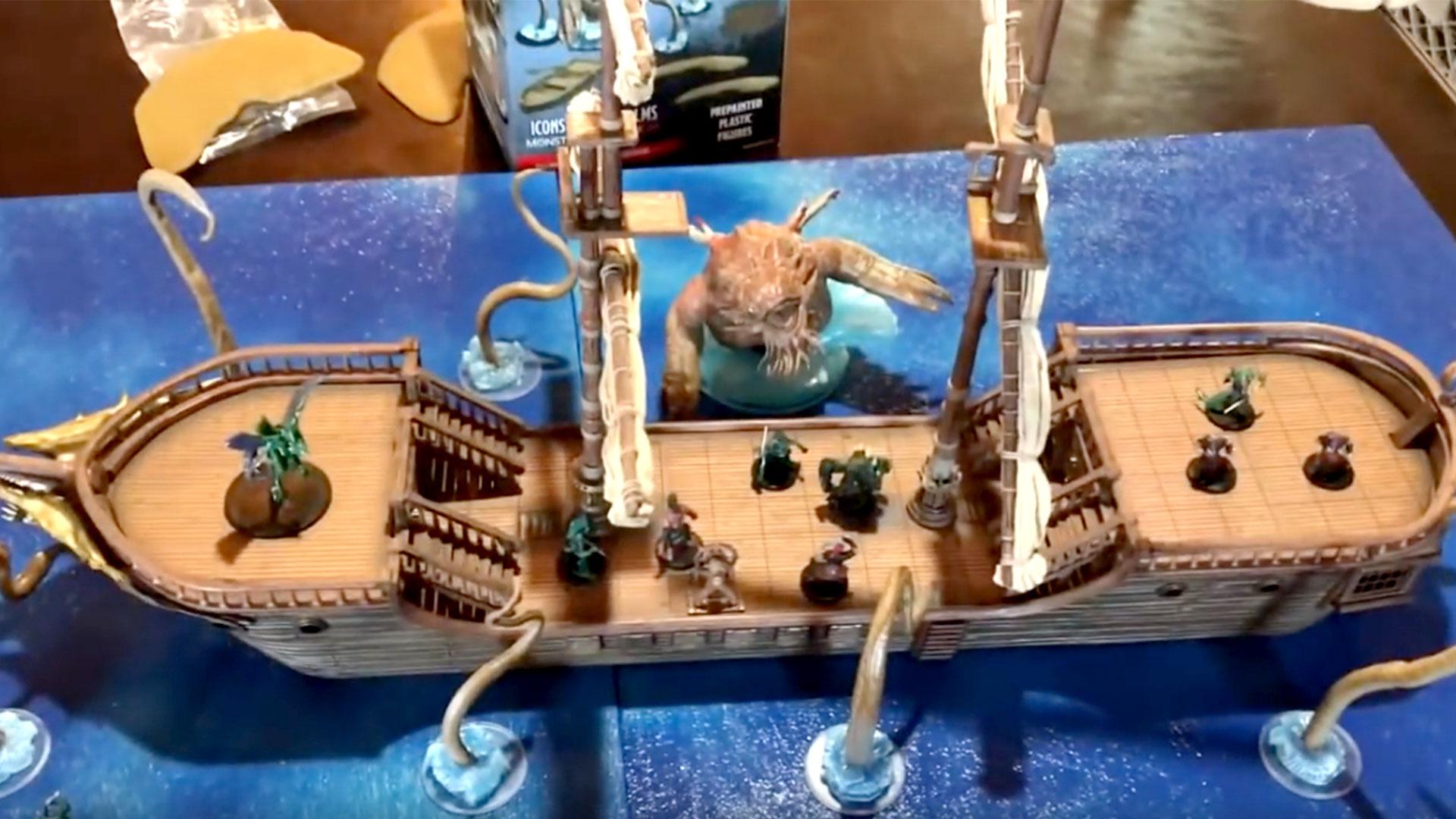 The Falling Star Sailing Ship Wizkids