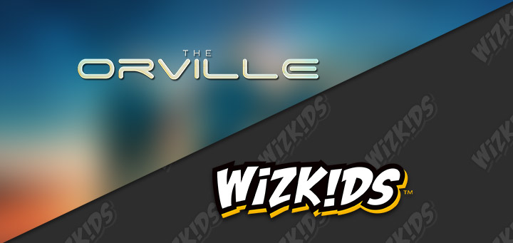 WIZKIDS ANNOUNCES LICENSING PARTNERSHIP FEATURING THE ORVILLE TV