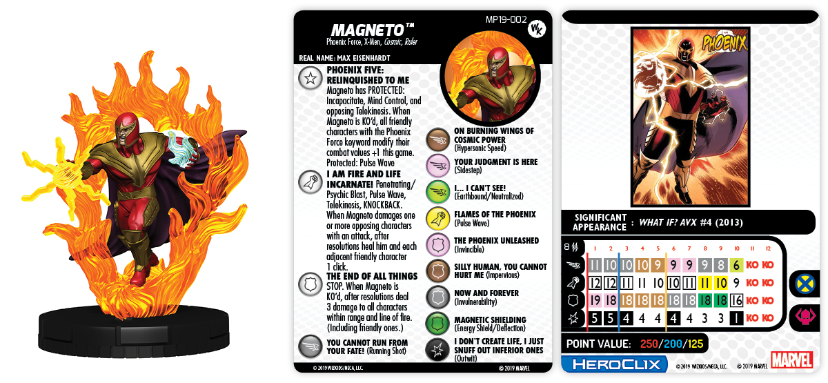 Marvel HeroClix: Phoenix Force Magneto