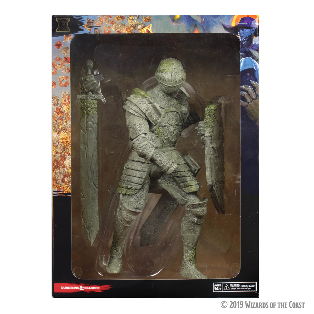 D&D Icons of the Realms Miniatures: Walking Statue of Waterdeep – The Honorable Knight