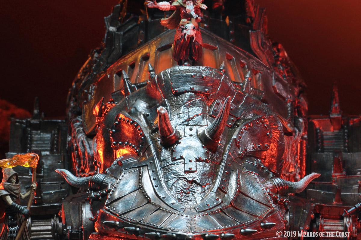Descent Into Avernus Baldurs Gate WizKids D&D Icons of The Realms ...