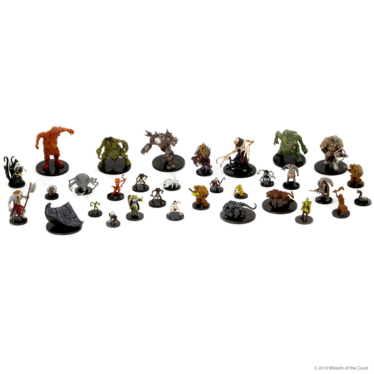 Dungeons and Dragons1 D/&D Icons of The Realms Volo /& Mordenkainens Foes Leucrotta #028