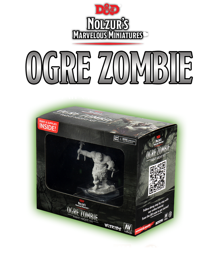 Ogre Zombie Paint Night Event | WizKids