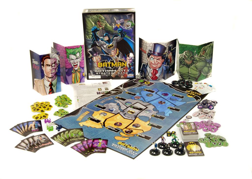 Batman Gotham City Strategy Game Components